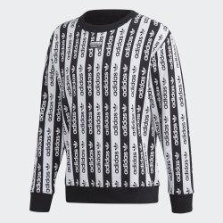 Мужской реглан D CREW BLACK|WHIT Adidas FM2292