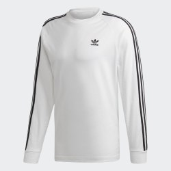 Мужской реглан 3-STRIPES LS T WHITE Adidas ED5959
