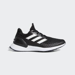 Детские кроссовки для бега RapidaRun J CBLACK|FTW Adidas EF9242