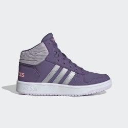 Детские высокие кроссовки HOOPS MID 2.0 K TECPRP|MSI Adidas EH0170