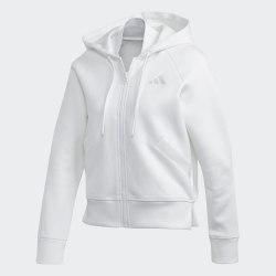 Женская толстовка W Rib Hoodie WHITE Adidas FL1951