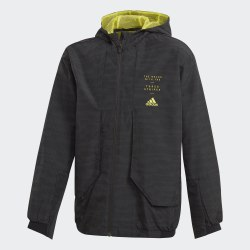 Детская ветровка JB A WINDBREAK BLACK|SHOY Adidas FL2825