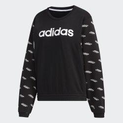 Женский реглан W FAV SW BLACK WHIT Adidas FM6185