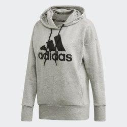 Женское худи W BOS LONG HD MGREYH BLA Adidas FP7580