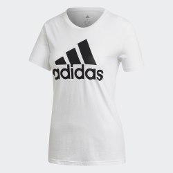 Женская футболка W BOS CO TEE WHITE Adidas FQ3238