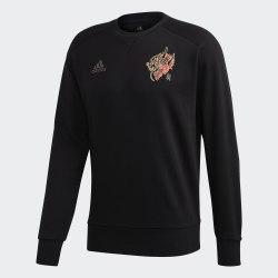 Мужской реглан MUFC CNY CR SWT BLACK Adidas GH0029