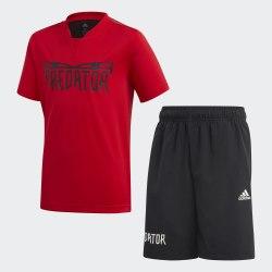 Детский спортивный костюм JB PRED SUM SET VIVRED Adidas FM1729
