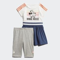 Детский спортивный костюм INF DY MM SUM WHITE|SEMC Adidas FM2862