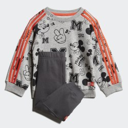 Детский спортивный костюм INF DY MM JOG MGREYH|SES Adidas FM2865