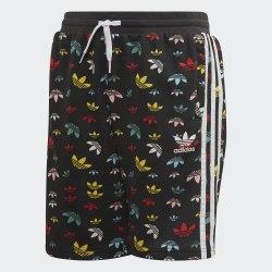 Детские шорты SHORTS BLACK|MULT Adidas FM4896