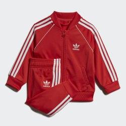 Детский спортивный костюм SUPERSTAR SUIT LUSRED|WHI Adidas Superstar FM5585