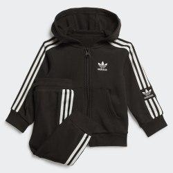 Детский спортивный костюм LOCK UP HOODIE BLACK|WHIT Adidas FM5596