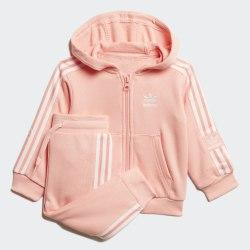 Детский спортивный костюм LOCK UP HOODIE GLOPNK|WHI Adidas FM5603