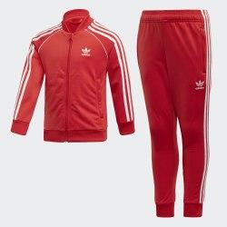 Детский спортивный костюм SUPERSTAR SUIT LUSRED|WHI Adidas Superstar FM5626