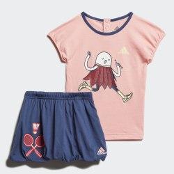 Детский спортивный костюм I CHARACT SET G GLOPNK|TEC Adidas FM6374