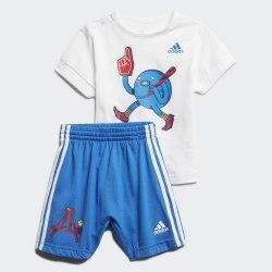 Детский спортивный костюм I CHARACT SET B WHITE|BLUE Adidas FM6375