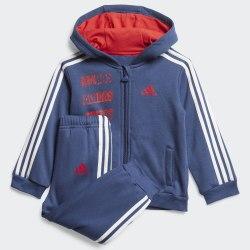 Детский спортивный костюм I LOG FZHD J FL TECIND|VIV Adidas FM6385