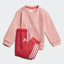 Детский спортивный костюм I DMH LOGO JOGG GLOPNK|WHI Adidas FM6402