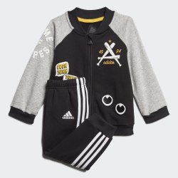 Детский спортивный костюм I COLL TS FT BLACK|MGRE Adidas FM6405