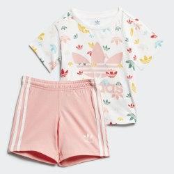 Детский спортивный костюм GIFT SET WHITE|MULT Adidas FR5308