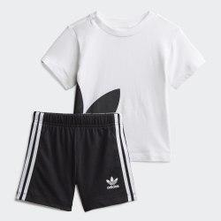 Детский спортивный костюм GIFT SET WHITE|BLAC Adidas FR5321