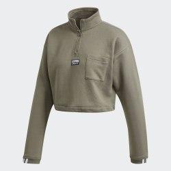 Женский укороченный свитшот CROPPED SWEAT LEGGRN Adidas FM2504
