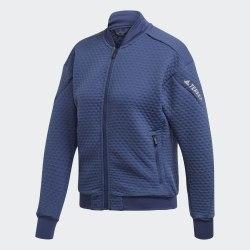 Женская флисовая куртка бомбер для хайкинга W Hike Fleece TECIND Adidas FK1360