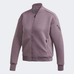 Женская флисовая куртка бомбер для хайкинга W Hike Fleece LEGPRP Adidas FK1359