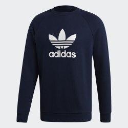 Мужская толстовка TREFOIL CREW CONAVY Adidas ED5948