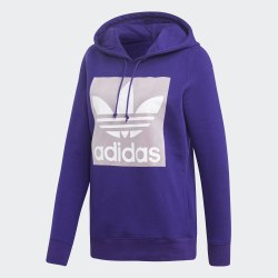 Женское худи TREFOIL HOODIE CPURPL Adidas EH5554
