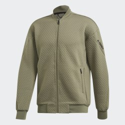 Мужская флисовая куртка бомбер для хайкинга Hike Fleece J LEGGRN Adidas FK1361