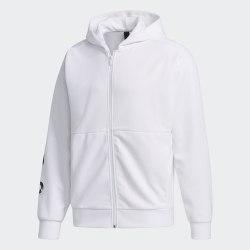 Мужская толстовка M MH SWT FZHD WHITE Adidas FM5388