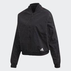 Женская куртка бомбер W St Bomber BLACK Adidas FI6737