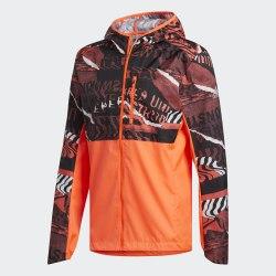 Мужская куртка для бега OWN THE RUN JKT SOLRED|GLO Adidas FL6988