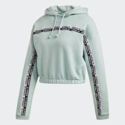 Женское укороченное худи Adidas FM2515