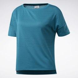 Женская футболка для тренировок TS TEE PERF MESH SEATEA Reebok FJ2894