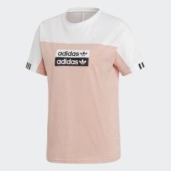 Женская футболка Tee WHITE PNKS Adidas EC0744
