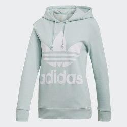 Женское худи TREFOIL HOODIE VAPGRN Adidas ED7503
