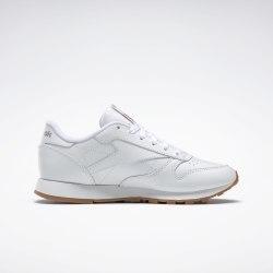 Женские кроссовки CL LTHR WHITE GUM Reebok Classic 49803