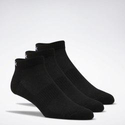 Комплект носков (3 пары) TE LOW CUT SOCK 3P BLACK|BLAC Reebok FQ5316