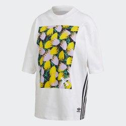 Женская футболка GRAPHIC TEE WHITE Adidas FL4080
