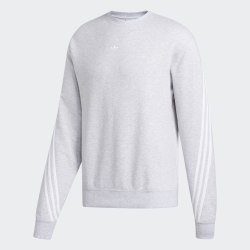 Мужской реглан 3STRIPE WRAP CR LGREYH|WHI Adidas FM1520