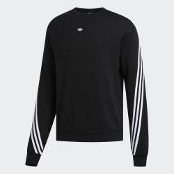Мужской реглан 3STRIPE WRAP CR BLACK|WHIT Adidas FM1522