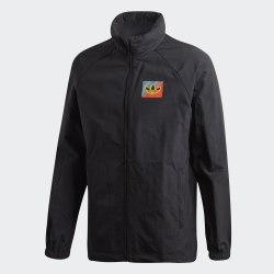 Мужская ветровка DIAGONAL WB BLACK Adidas FM3369
