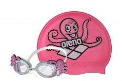 Очки Arena для плавания BUBBLE SET ARENA WORLD assorted Arena 92295-20