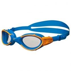 Очки Arena для плавания NIMESIS Clear,Blue,Fluo_Orange Arena 92342-74