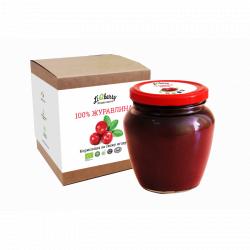 Полунична паста LiQberry (банка 550г)