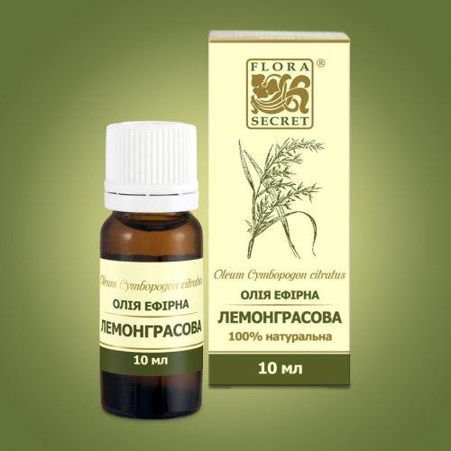 Олія ефірна лемонграссу Flora Secret 10 мл