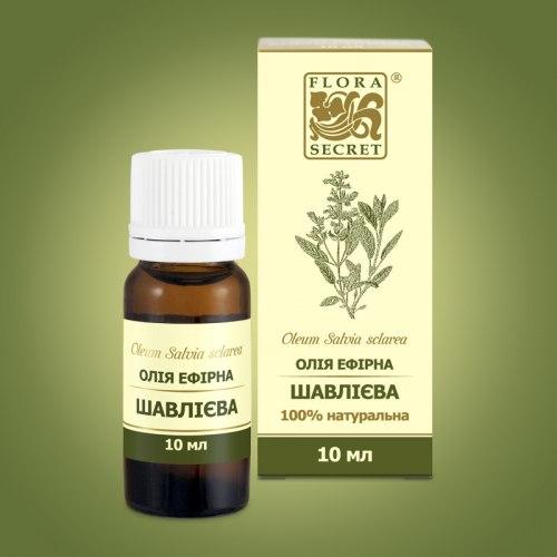 Олія ефірна шавлієва Flora Secret 10 мл
