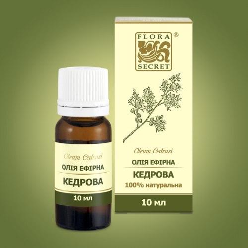 Олія ефірна кедрова Flora Secret 10 мл